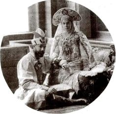 Grand Duke Alexander and Grand Duchess Xenia
