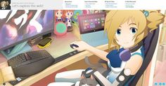 Un anime llamada Inori Aizawa es la nueva mascota del navegador Internet Explorer