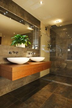 Canford Cliffs contemporary bathroom