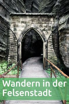Czech Republic: A hike through the Adelsbach-Weckelsdorfer .- Tschechien: Eine Wanderung durch die Adelsbach-Weckelsdorfer Felsenstadt Czech Republic: A hike through the Adelsbach-Weckelsdorf rock city - Europe Destinations, Places To Travel, Places To See, Reisen In Europa, Belle Villa, Destination Voyage, Camping And Hiking, Backpacking, Travel Goals