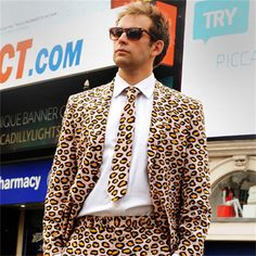 Who said leopard print was just for girls?
