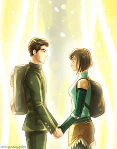 Makorra season finale // portal scene by thelegendofzuko.deviantart.com on @DeviantArt. My ship....