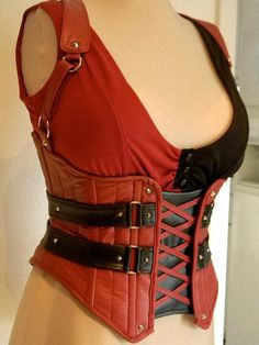Harley Quinn Arkham City Corset and Shirt