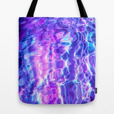 Midnight Swim Tote Bag by Nestor2 - $22.00