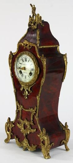 French Orvington Brothers Mantle Clock, 19th Cenutry,