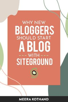 Starting a blog? Or already started blogging? Do you have a nagging feeling it's time to switch your host? In this post I share some tell-tale signs of when it's a good reason to switch your web hosting and my own experience of why I did it. Siteground vs Bluehost.