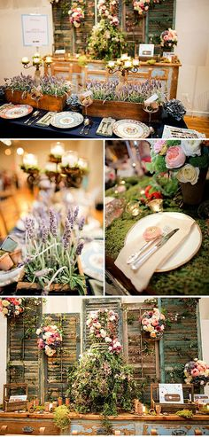 Love the use of floral elements here!