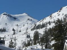 Squaw Valley, in Olympic Valley, California
