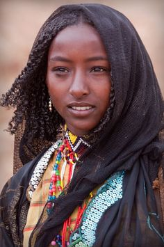 young woman of the borana oromo people, ethiopia | traditional african culture