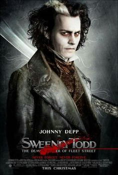 ~ † Movie Poster Of Sweeney Todd ~