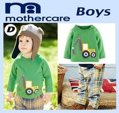 momsneed shop  Setelan baju anak - boys set Code d by mothercare Boy Fashion b9e9cdbec5
