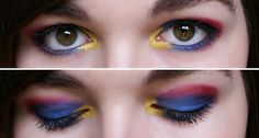SUPERMAN MAKEUP!!!! Ok Faith I will try to do something like this!!!