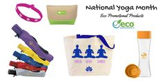 Eco Promotional Products for National Yoga Month
