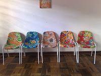 Cadeiras reformadas! ;)