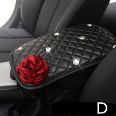 Customized Car Center Console Cover with Flower and Rhinestones – Carsoda Bling Car Accessories, Car Interior Accessories, Girls Accessories, Nissan, Lilly Pulitzer, Volkswagen, Car Interior Decor, Boat Interior, Interior Ideas