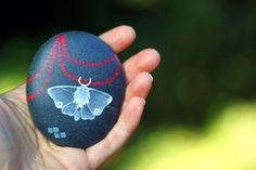 Steady in the Dark - A Moth Stone