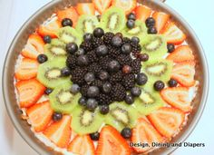 There is nothing like a Gluten-Free Summer Tart to top off a nice summer meal!