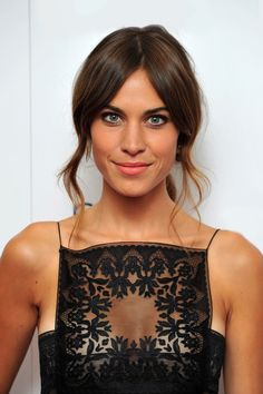 Alexa Chung. Don't ALWAYS love her style but this is spot on.
