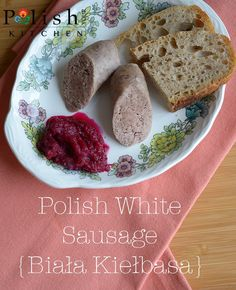 Biała kiełbasa gets it's name from nothing else but it looking white after being cooked. It's a pork sausage spiced with garlic and marjoram always served at Easter in my home. It's like the …