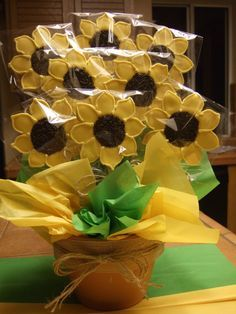 SUNFLOWER SUGAR COOKIE BOUQUET