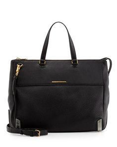MARC by Marc Jacobs Shelter Island Jaime Tote Bag, Black, 578s