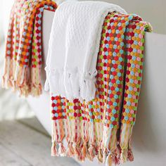Turkish Dot Oversized Bath Towel #colorful #bathtowels #bathroom dotandbo.com
