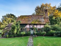 Dream 16th century cottage in West Sussex up for sale  - countryliving.co.uk