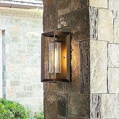 Hinkley Rhodes Outdoor Wall Light | YLighting.com Outdoor Wall Sconce, Outdoor Wall Lighting, Outdoor Walls, Modern Lighting, Candle Sconces, Wall Sconces, Norwell Lighting, Hinkley Lighting, Media Wall
