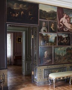 Palais de Pierre III - Oranienbaum - Intérieur