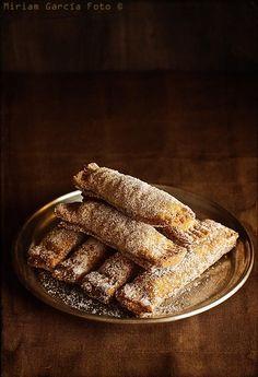 Casadielles, dulce tradicional paso a paso   Recetas con fotos paso a paso El invitado de invierno