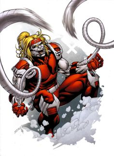 Omega Red by *spidermanfan2099 on deviantART