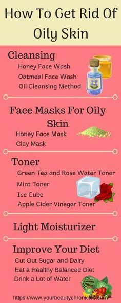 to Get Rid of Oily Skin Oily skin making your life just a little but harder. Use these tips to learn how to get rid of oily skin.Oily skin making your life just a little but harder. Use these tips to learn how to get rid of oily skin. Mask For Oily Skin, Oily Skin Care, Skin Care Regimen, Skin Care Tips, Skin Tips, Dry Skin, Makeup Tips For Oily Skin, Skincare For Oily Skin, Greasy Skin