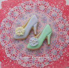 pretty shoes sugar cookie