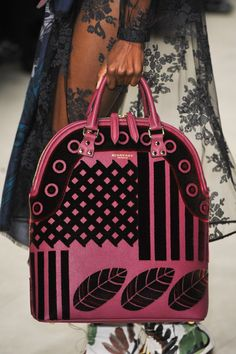 Bags from Burberry f/w 2014