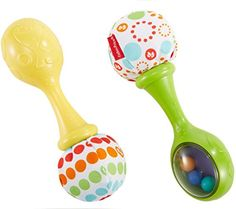 Fisher-Price Rattle 'n Rock Maracas Toy Infant sound Girl Boy Musical Baby Game Fisher Price, Baby Sensory, Sensory Toys, Fabric Pom Poms, Baby Musical Toys, 4 Month Baby, Best Baby Toys, Love Balloon, Mattel