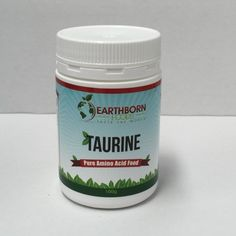 Earthborn Foods Taurine Pure Amino Acid Food 100 g at Megavitamins Online Supplement Store Australia.Taurine includes the Pure Amino Acid Food.