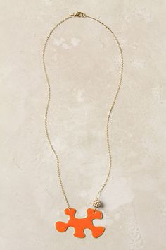 'missing piece' necklace from Anthropologie