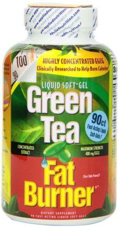 reviews of green tea fat burner pills