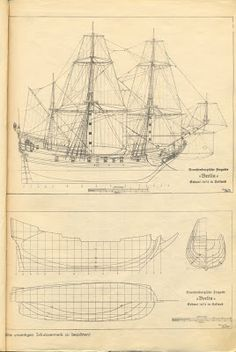 Bilderesultat for wood model plans Model Sailing Ships, Old Sailing Ships, Model Ship Building, Boat Building Plans, Scale Model Ships, Sailboat Plans, Model Boat Plans, Wooden Ship, Tug Boats