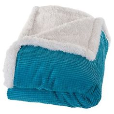 Yorkshire Home Plush Corduroy Sherpa Throw