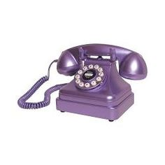 I would LOVE this !!!   Crosley CR62-PR Purple Corded Kettle Classic Desk Phone