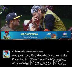 #RoyRosello #Menudo #AFazenda