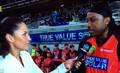 When Chris Gayle asked a journalist out for a drink in the middle of the match