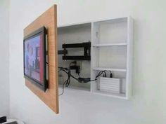 Oculta cables tv