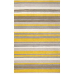 Yellow stripe rug- needs for our grey/yellow bedroom!