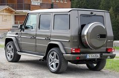 "G63. 0-60 in 5.3 seconds. I guess ""fast"" and ""SUVs"" don't go together, but I'd still love it."