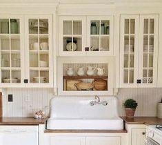 gorgeous farmhouse kitchen cabinets makeover ideas 71
