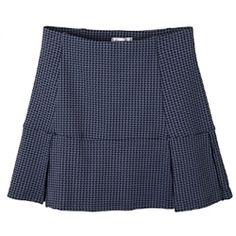 Smashing Erika Mid-rise Compression Golf Skort - B&B Houndstooth - LOVE skorts for golf. Can't wait for nice weather again so I can golf without bundling up.