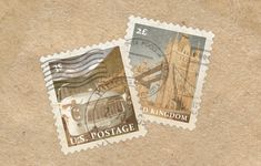 craft a vintage postage stamp in photoshop