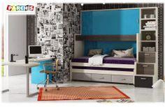 Cama Abatible con Mesa, Camas Auto-Portantes.: ¿No sabes qué colores combinar en tu dormitorio?